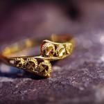 auksiniai vestuviniai ziedai, dovanos