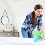 Kaip geriausia išvalyti vonią